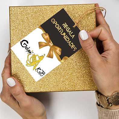 tarjeta regalo donar