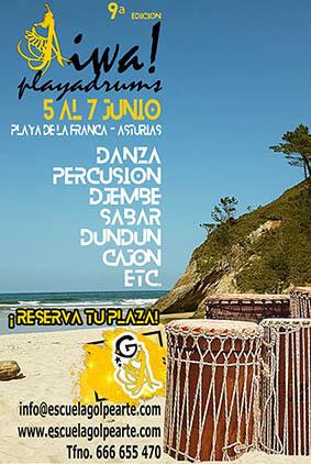 festival playadrums asturias